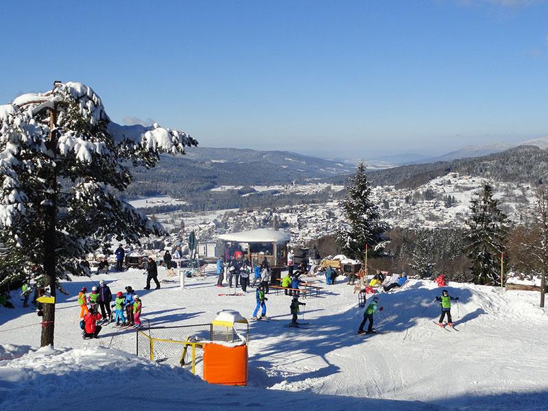 Bodenmais Silberberg Skigebiet